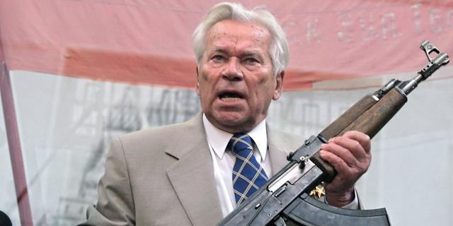 Ontwerper AK-47 Kalasjnikov (94) overleden