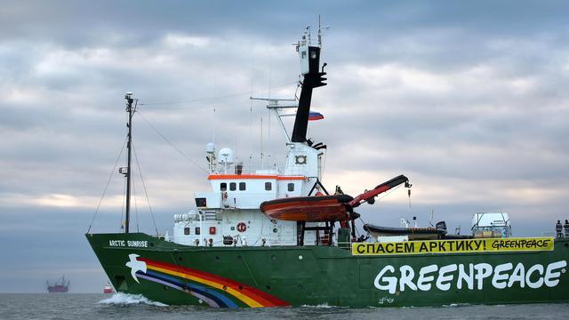 Greenpeace wil Arctic Sunrise terug