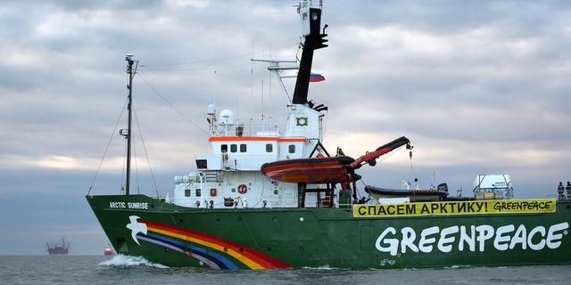 Greenpeace krijgt Arctic Sunrise terug van Rusland