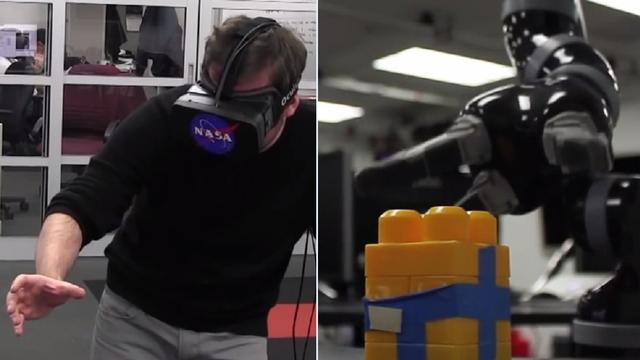 NASA bestuurt robot met Kinect en Oculus Rift