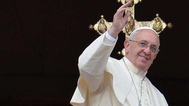 Paus Franciscus best geklede man van 2013