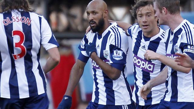 Anelka levert contract bij West Bromwich Albion in