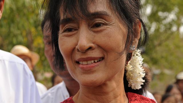 Aung San Suu Kyi mag niet meedoen aan verkiezingen in Myanmar