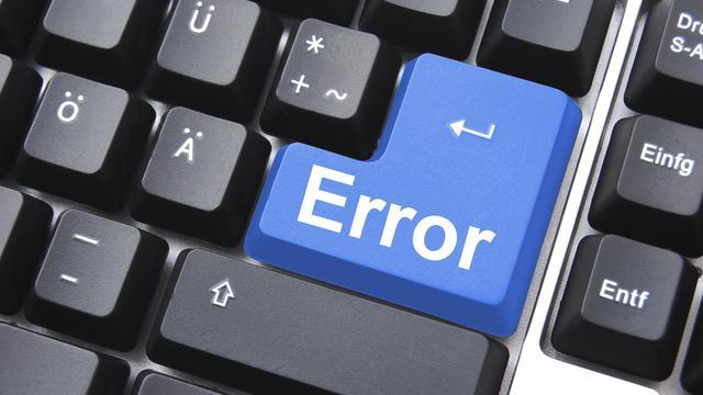 'Softwarefouten schadepost van 1,6 miljard'