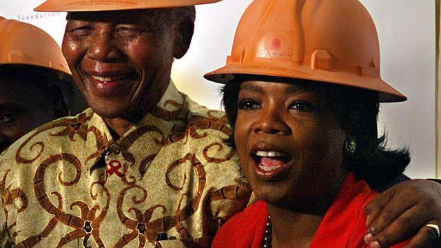 Oprah Winfrey legt hand op Nelson Mandela-film