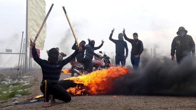 Vluchtelingen uit Ramadi tegengehouden