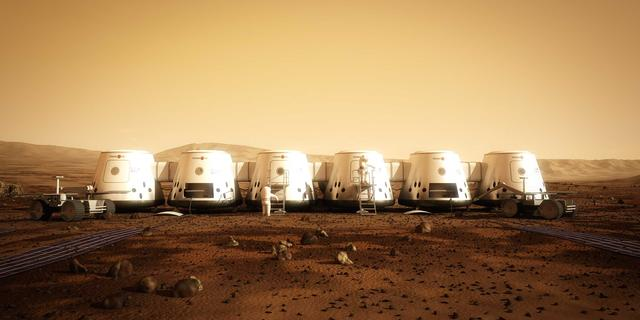 Nederlands ruimtevaartproject Mars One naar beurs Frankfurt