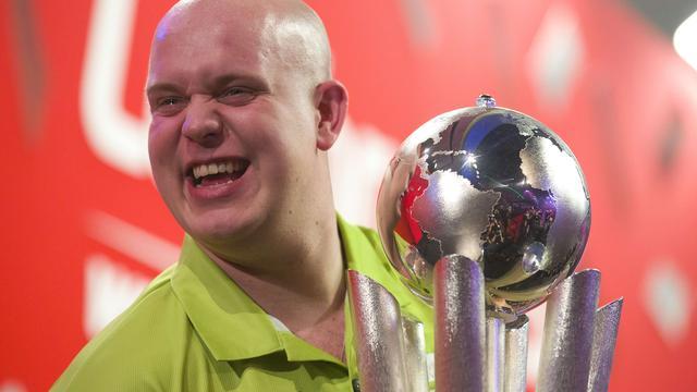 Van Gerwen voor het eerst wereldkampioen darts
