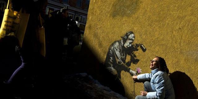 Kunstwerken Banksy doelwit van vandalisme