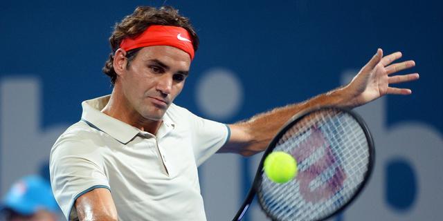 Federer: 'Harder getraind dan spelers die boven me staan'