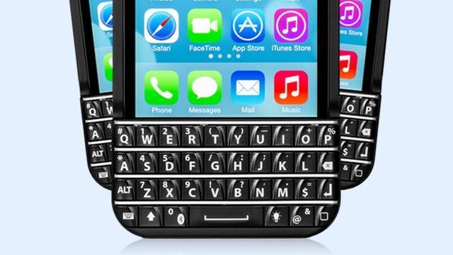 Verkoop Blackberry-achtige toetsenborden voor iPhones beëindigd