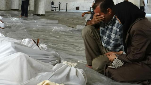 'Onderzoekers linken Syrië aan grote sarinaanval in 2013'