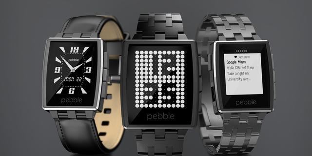 Pebble laat fitnessapps op de achtergrond draaien