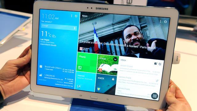 Hands-on: Grote Galaxy Tab Pro en Note Pro van 12,2 inch