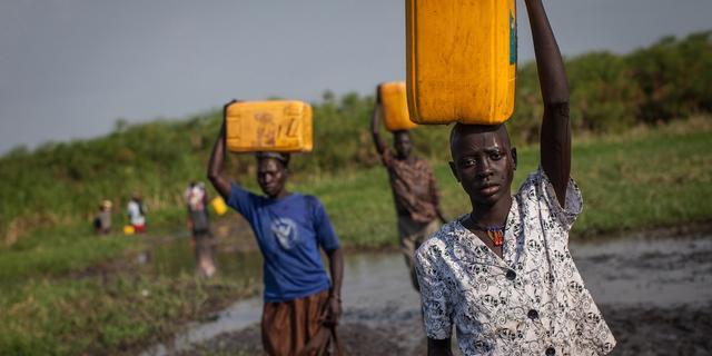 VN versterken voedselhulp aan Zuid-Sudan