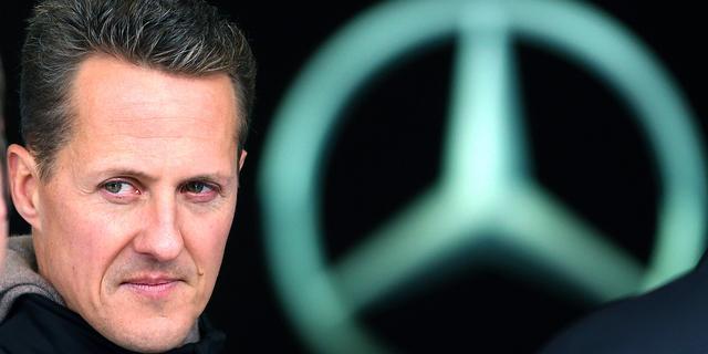 'Bemoedigende signalen waargenomen bij Schumacher'