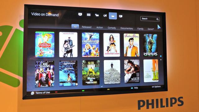 Philips smart-tv's kwetsbaar voor hack