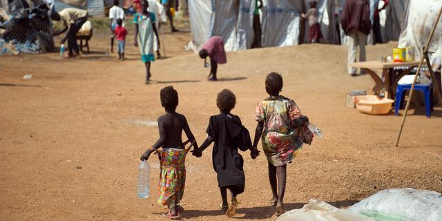 Dodental Zuid-Sudan naar 10.000