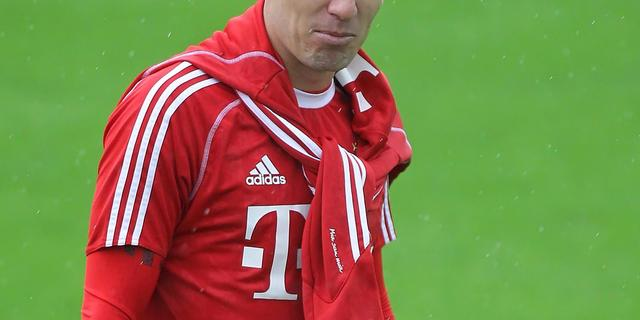Robben hervat groepstraining Bayern München