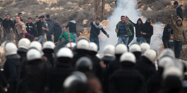 Gevechten in Palestijns kamp om staking