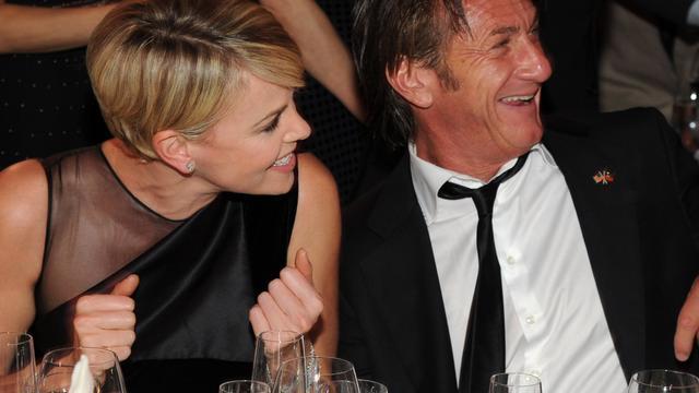 'Charlize Theron en Sean Penn willen trouwen'