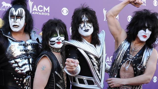 Rockband Kiss voor jubileumshow naar Ziggo Dome