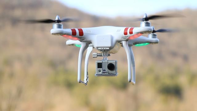 Hollywood mag drones gaan gebruiken voor films