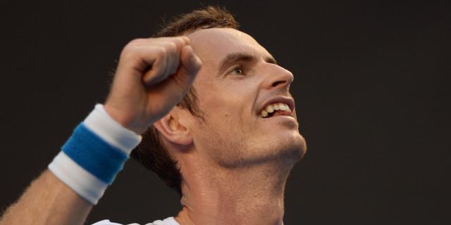 Federer en Murray probleemloos door op Australian Open
