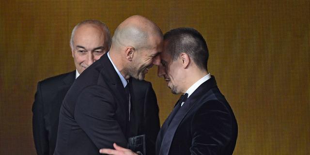 Ribéry en Platini balen van Gouden Bal-verkiezing