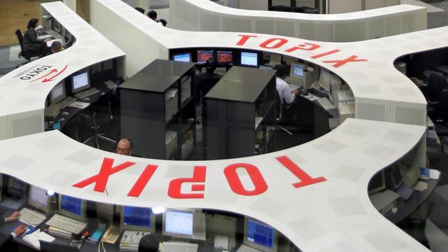 Stevige winst voor beurs Tokio