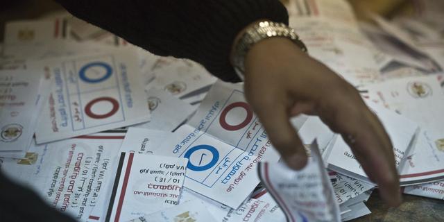 Ruime meerderheid stemt voor grondwet Egypte