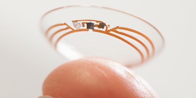 Google doet patentaanvraag voor contactlens met camera