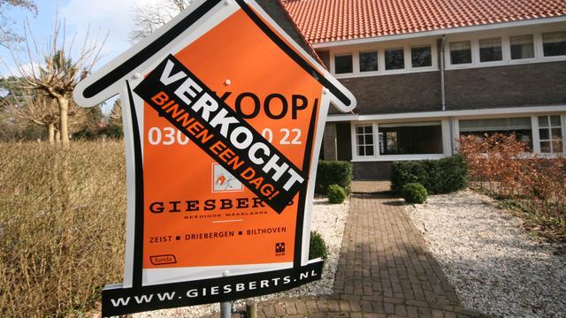 'Gunstige tijd om huis te kopen als starter'