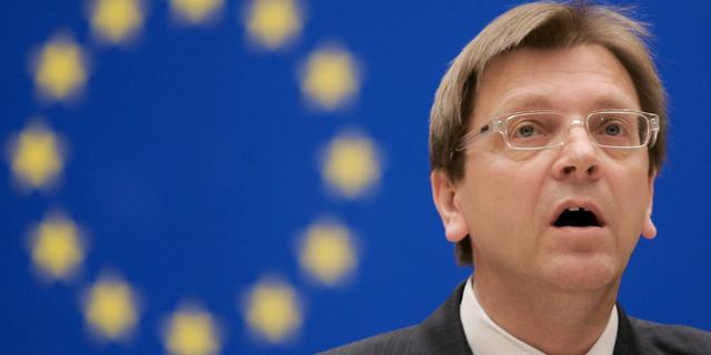 Verhofstadt wordt liberale EU-kandidaat