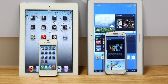 Samsung opent aanval op iPad in reclamevideo's
