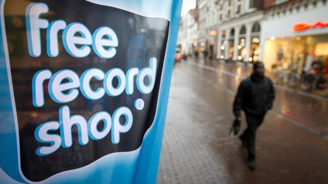 Free Record Shop in Nederland failliet