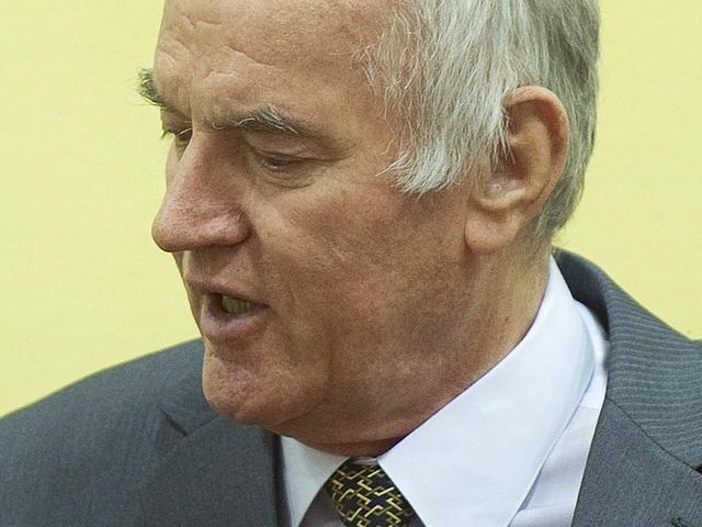 Genocide-aanklachten tegen Mladic blijven staan