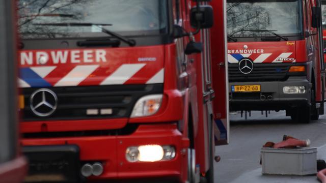 Defensie helpt bij brand Zaltbommel