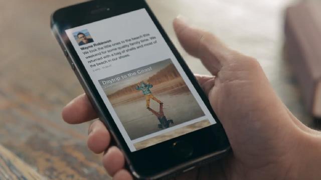 Facebook-app Paper combineert nieuws en Facebook-updates