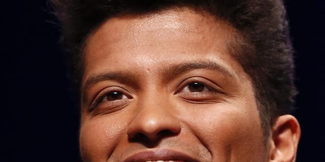 Ook Bruno Mars treedt op tijdens Super Bowl
