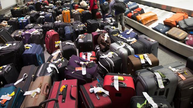 Ongeveer 10.000 koffers achtergebleven op Brussels vliegveld door storing
