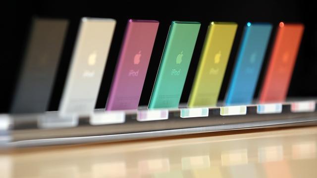 'Apple komt volgende week met nieuwe iPods'