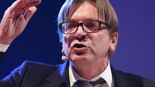 Verhofstadt kandidaat voorzitterschap Europese Commissie