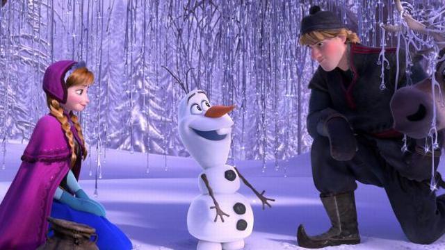 Korte vervolgfilm Frozen in maart in de bioscoop