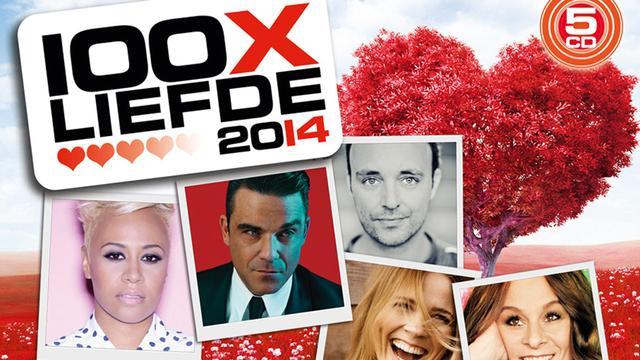 Various Artists - 100x Liefde 2014
