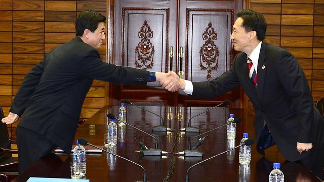 Akkoord over hereniging Koreaanse gezinnen