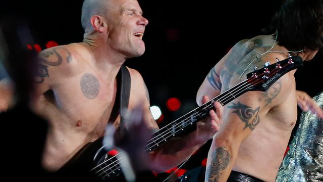Red Hot Chili Peppers playbackten tijdens Super Bowl