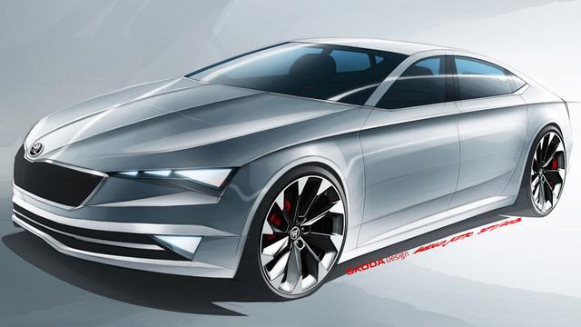 Vision C toont design toekomstige Skoda's