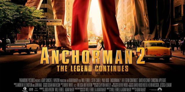 Anchorman 2 definitief in Nederlandse bioscoop