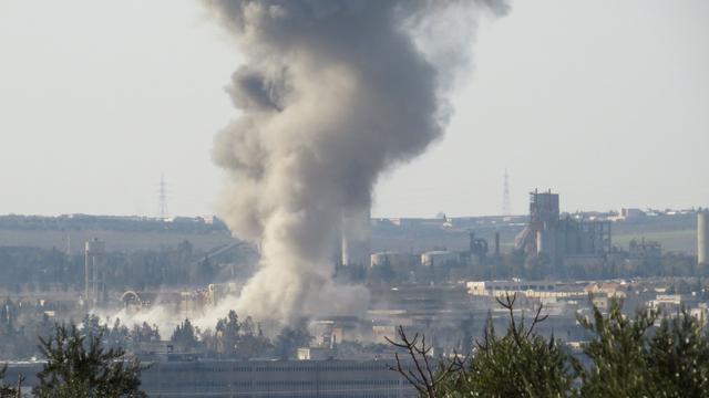 Tweeduizend doden in 2014 door bomvaten in Aleppo